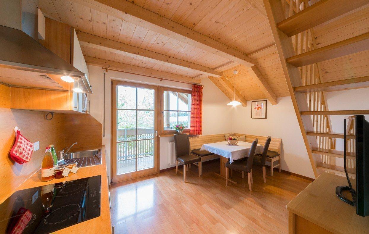 Unser Appartement bei Brixen mit Blick auf den Sternenhimmel