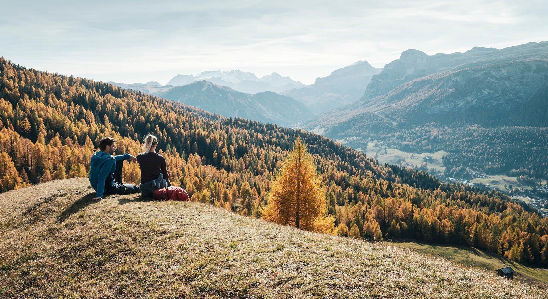 Herbst in Südtirol und Tradition des Törggelens